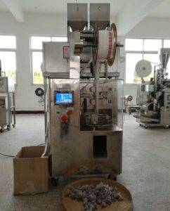 Full Automatic Pyramid Tea Bag Packing Machine with Outer Envelope