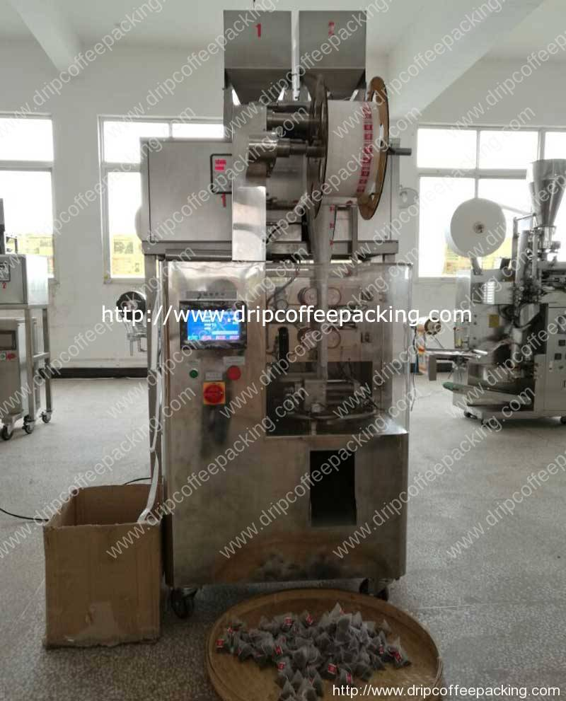 Automatic-Nylon-Pyramid-Tea-Bag-Packing-Machine