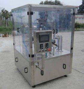 Rotary Type Tea Capsules Filling Sealing Machine