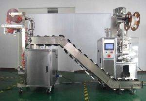 Pyramid Tea Bag Packing Machine with Outer Bag Package