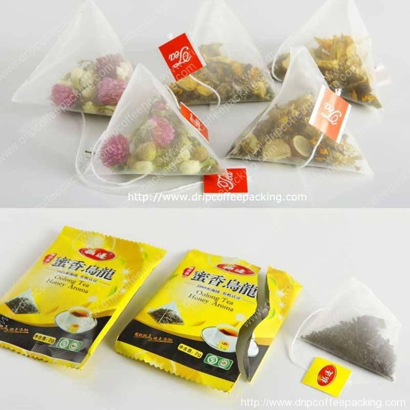 Electronic Scale Pyramid Tea Bag Packing Machine for Sri Lanka Customer