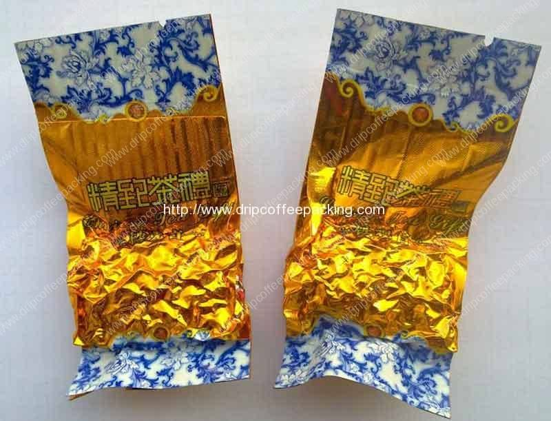 Double Electronic Scale Vacuum Tea Packing Machine