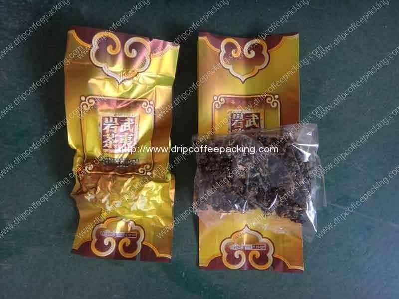 Tea Inner Bag and Outer Bag Vacuum Packing Machine