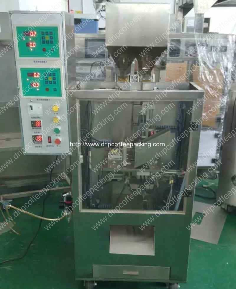 Double-Electronic-Scale-Auttomatic-Vacuum-Tea-Packing-Machine