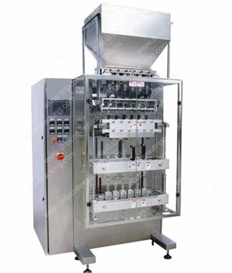 Multi-Head-Instant-Coffee-Sticks-Packing-Machine