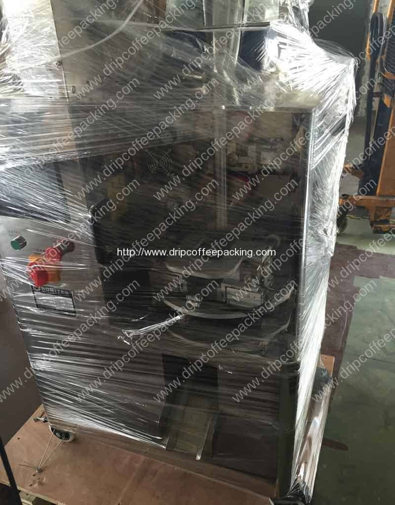 Automatic Pyramid Tea Bag Packing Machine Delivery for UK Customer