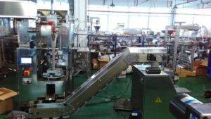 Pyramid Tea Bag Packing Machine with Outer Envelope Packing Machine for Japan