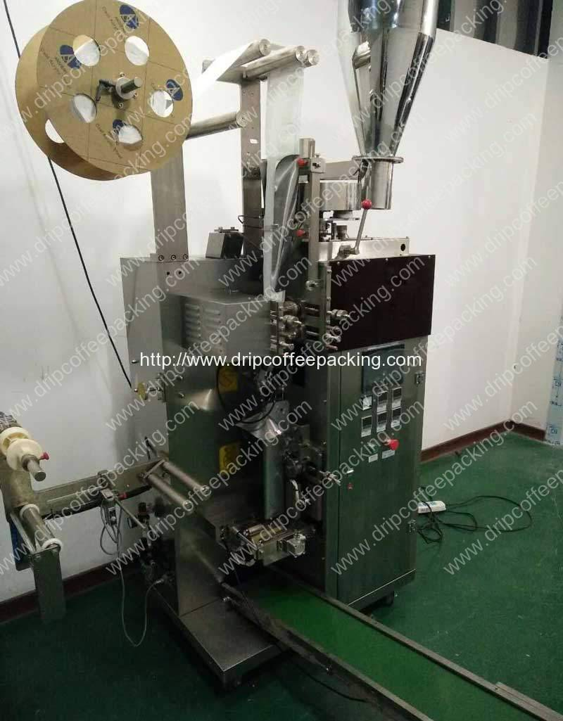 Drip Coffee Bag Packing Machine with Heat Sealing Device