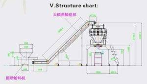 Full-Automatic-Small-Bag-Weighting-and-Big-Pouch-Packing-Plant-System-Drawing