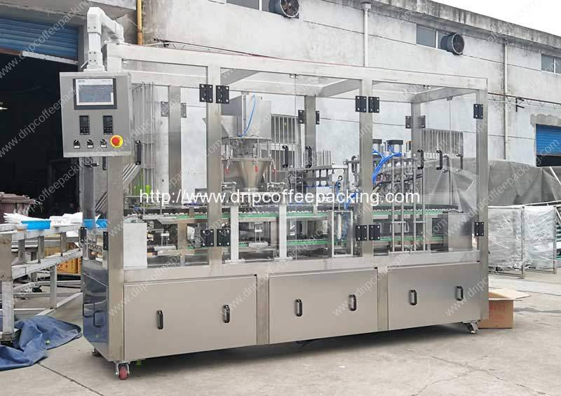 Automatic Linear Type Ronnefeldt Tea Capsules Double Layer Sealing Filling Machine