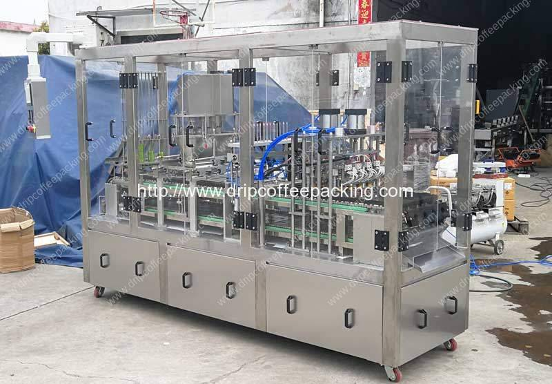 Automatic Ronnefeldt Tea Capsules Double Layer Sealing Filling Machine