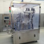 Automatic Kcups Tea Capsules Filling Sealing Machine for Sri Lanka Customer