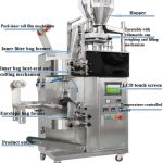 High Speed Double Feeding Hopper Tea Bag Packing Machine for Sale